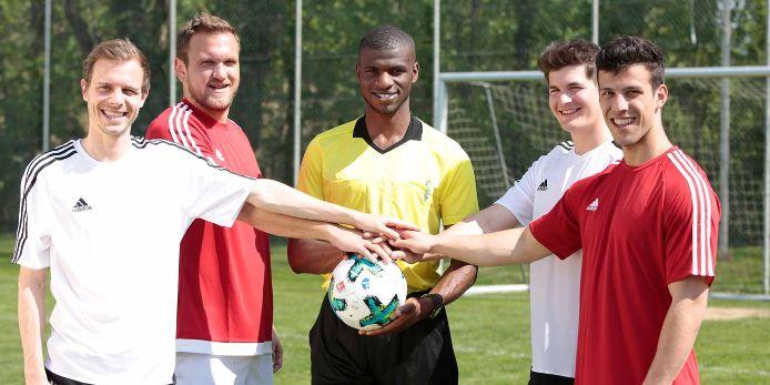 Vielfalt im Fussball - Gegen Rassismus
