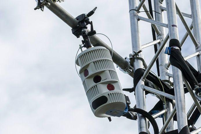 Die Kamera des Streaming-Anbieter sporttotal.tv