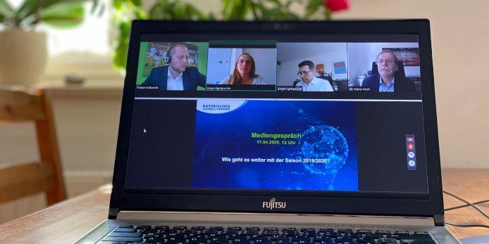 Feature Videokonferenz Spielbetrieb