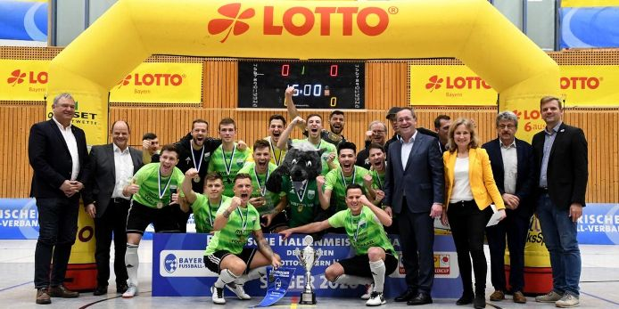 Feature Siegerfoto Lotto Bayern Hallencup